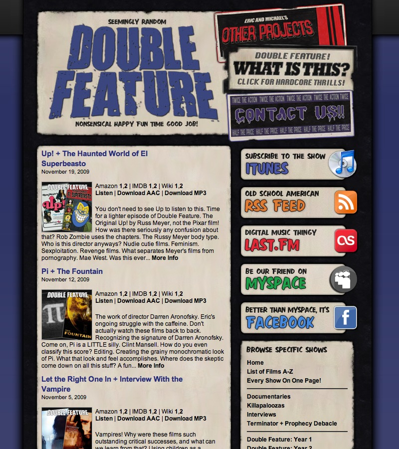 Double Feature Old