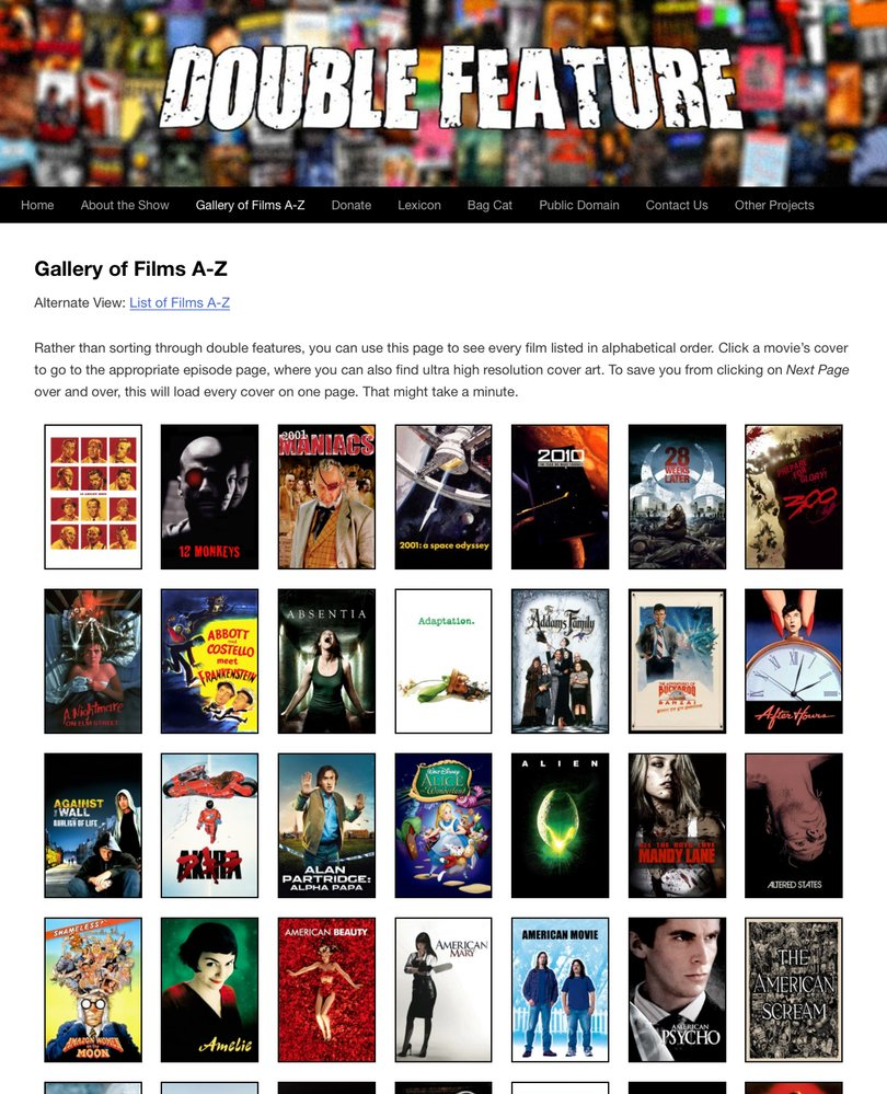 Double Feature Site 2